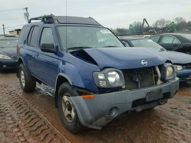 Salvage 2002 Nissan XTERRA XE for sale