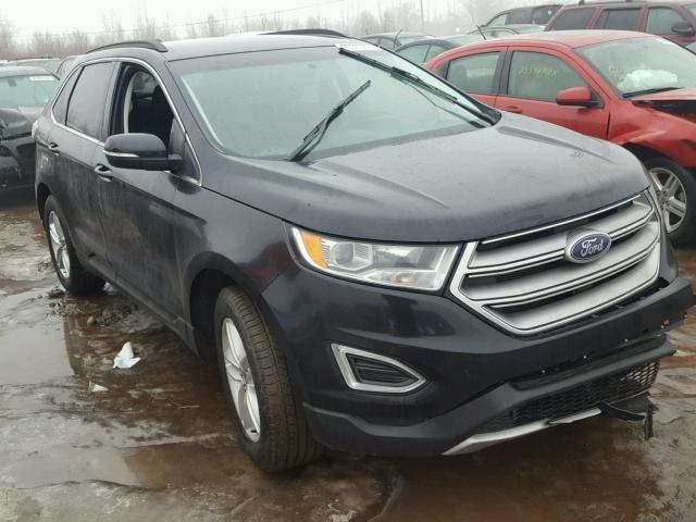 Salvage 2016 Ford EDGE SEL for sale