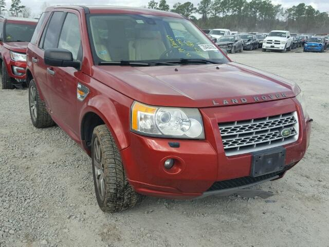 Auto Auction Ended On Vin Salfr24nx8h111484 2008 Land Rover Lr2 Hse