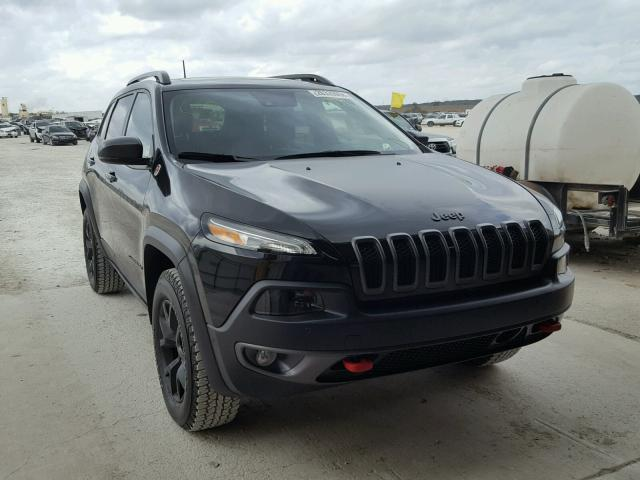 2017 jeep cherokee trailhawk for sale tx austin salvage cars copart usa. Black Bedroom Furniture Sets. Home Design Ideas