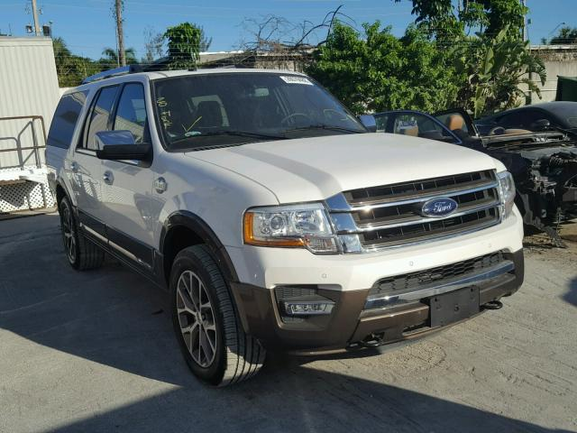 2017 ford expedition el xlt for sale fl miami north salvage cars copart usa. Black Bedroom Furniture Sets. Home Design Ideas