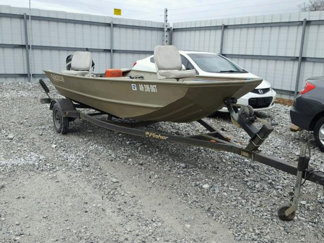 Salvage 2007 Lowe BOAT1448 J for sale