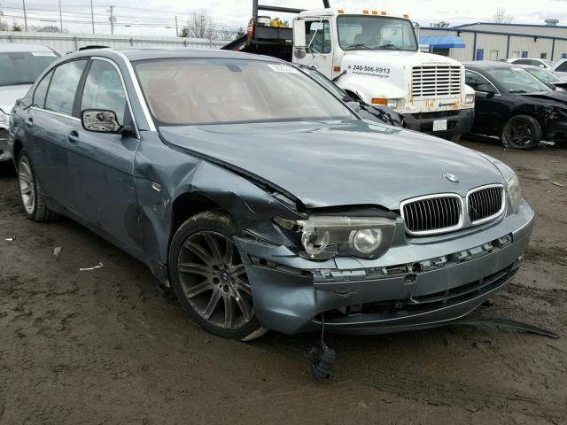 Auto Auction Ended On VIN UXFGCCLZ BMW X XDRIVE - 2012 bmw 745