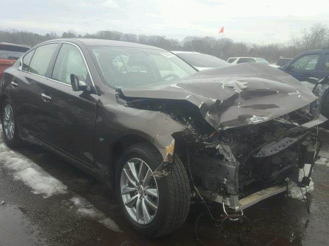 Infiniti salvage cars for sale: 2014 Infiniti Q50 Base