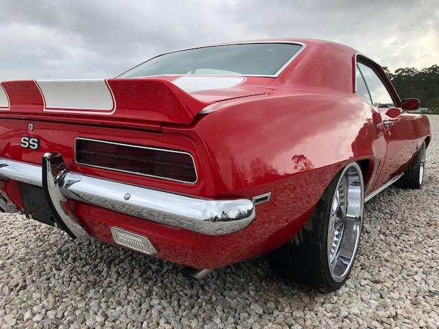 1969 Chevrolet Camaro Ss For Sale At Copart Houston Tx