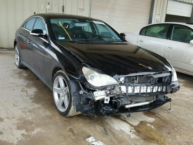 Salvage 2008 Mercedes-Benz CLS 550 for sale