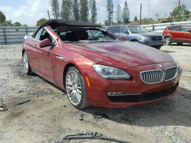 Auto Auction Ended On Vin Wbalz3c53cdl71207 2012 Bmw 650i