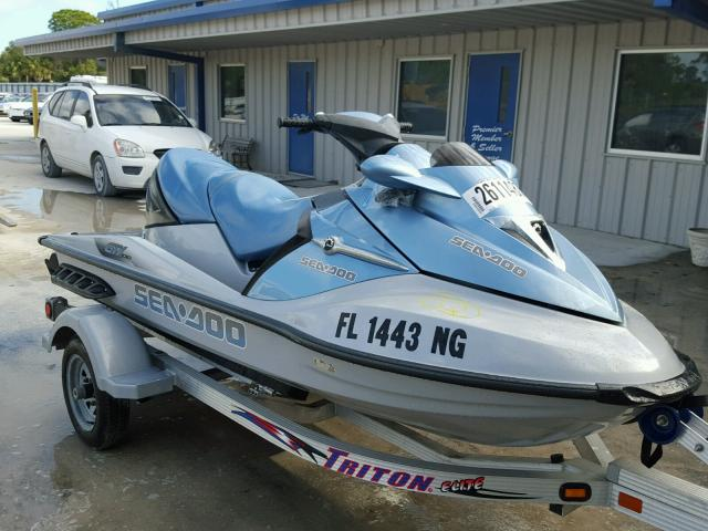 Salvage 2006 Seadoo GTX LIMITED for sale