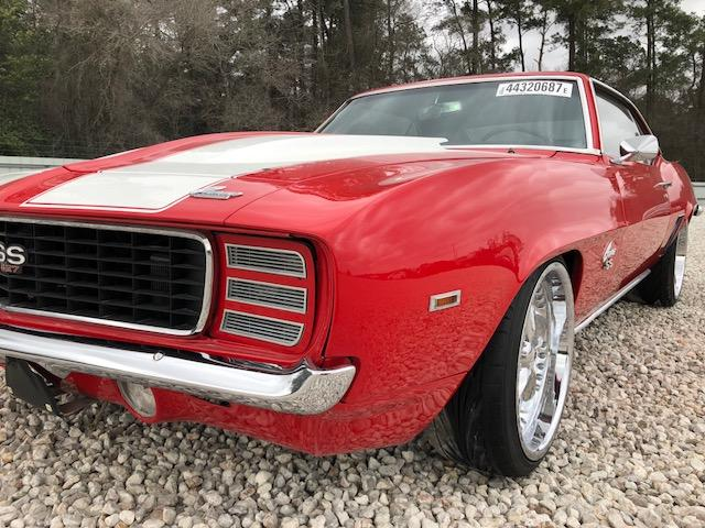 Salvage 1969 Chevrolet CAMARO SS for sale