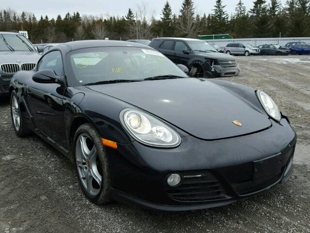 2010 Porsche Cayman For Sale On Toronto Salvage Cars Copart Usa