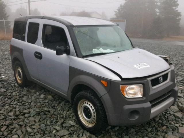 5j6yh17263l801537 2003 Gray Honda Element Dx On Sale In Nb