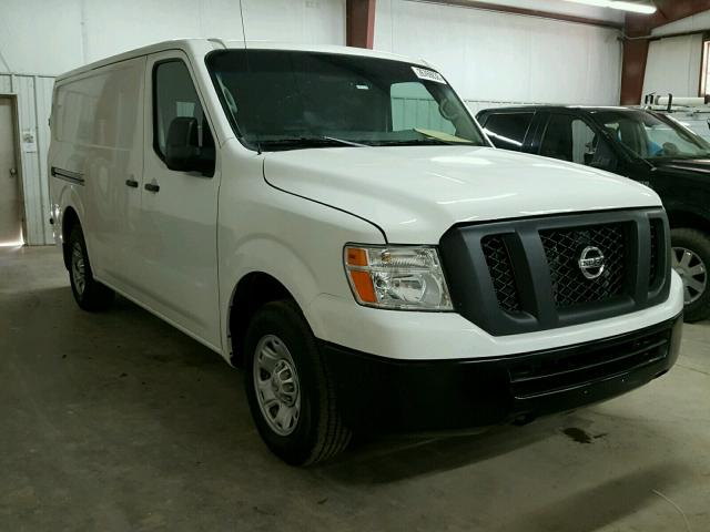 2016 nissan nv 1500 s for sale tx mcallen salvage cars copart usa. Black Bedroom Furniture Sets. Home Design Ideas
