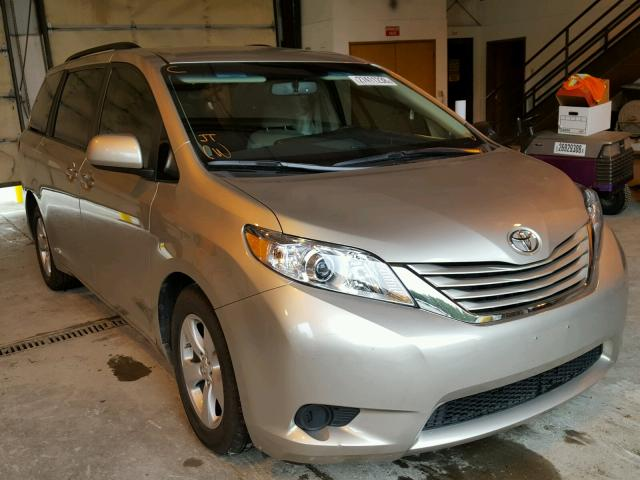 2016 TOYOTA SIENNA LE For Sale