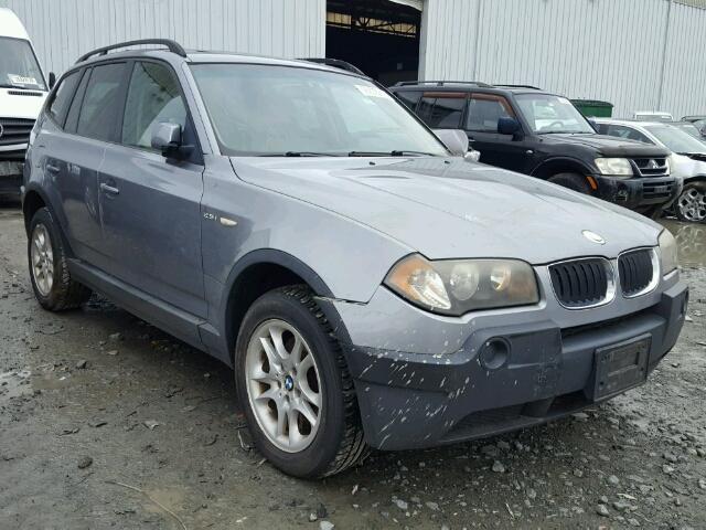 2004 BMW X3 2.5I 2.5L