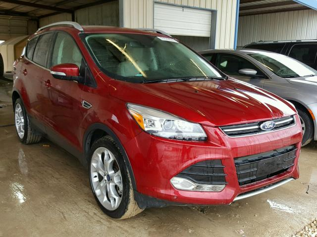 2016 ford escape titanium for sale tx san antonio salvage cars copart usa. Black Bedroom Furniture Sets. Home Design Ideas
