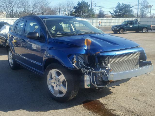 Salvage 2009 Dodge CALIBER SX for sale