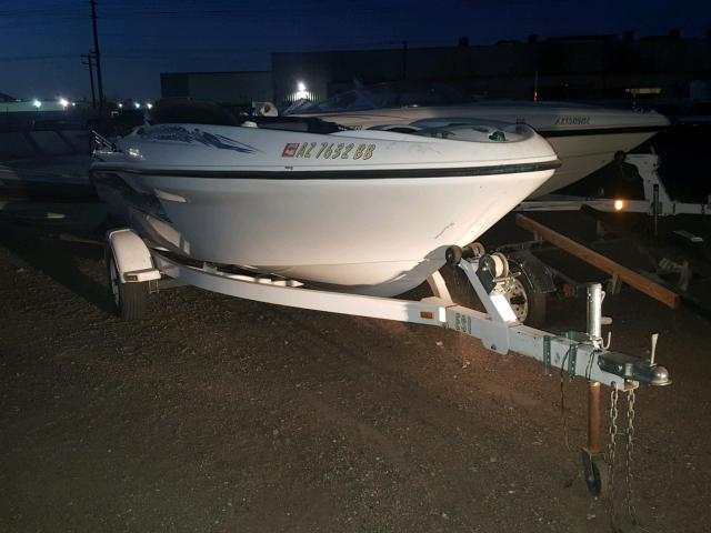 Salvage 1999 Boat MARINE TRAILER for sale