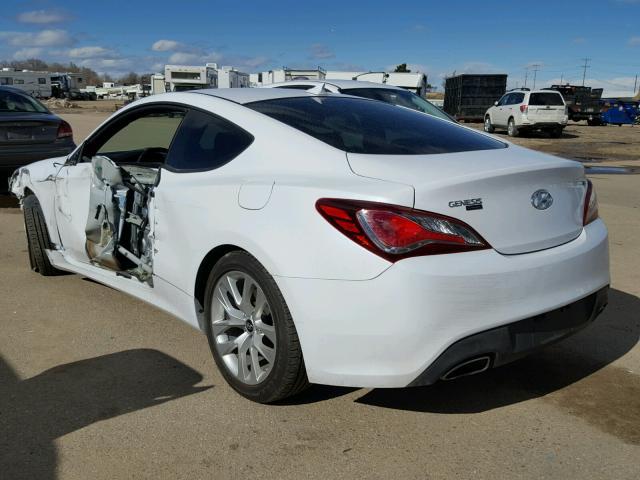 2015 HYUNDAI GENESIS COUPE 3 8L s Salvage Car Auction