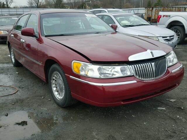 1998 Lincoln Town Car Cartier For Sale Pa Harrisburg Salvage