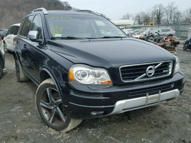 2014 volvo xc90 r design for sale ny newburgh salvage cars copart usa. Black Bedroom Furniture Sets. Home Design Ideas