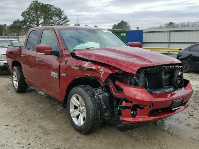Salvage 2015 Dodge RAM 1500 SPORT for sale