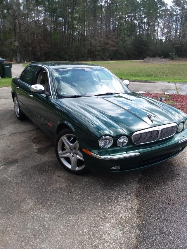 2005 jaguar super v8 for sale la new orleans salvage. Black Bedroom Furniture Sets. Home Design Ideas