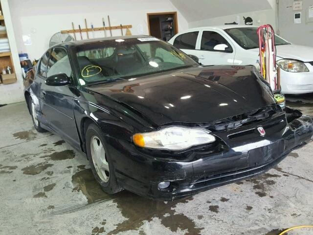 Salvage 2001 Chevrolet MONTE CARL for sale