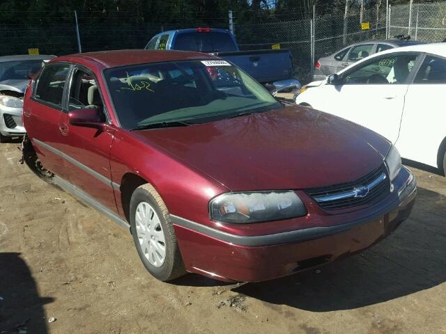 2002 Chevrolet Impala 3 4l