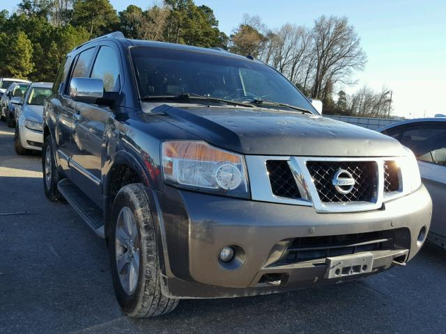 Auto Auction Ended On Vin 5n1ba0ncxan608777 2010 Nissan Armada Se