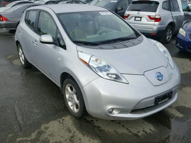 Auto Auction Ended On Vin Jn1az0cp4bt003278 2011 Nissan Leaf Sv In