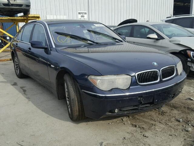 2004 BMW 745 LI 4.4L