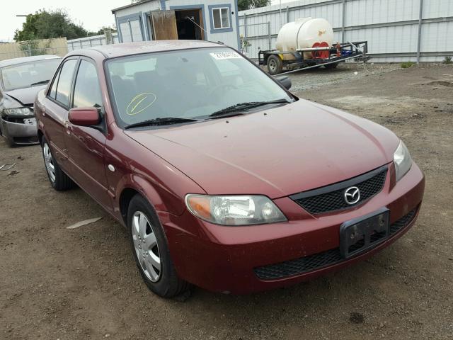 Auto Auction Ended on VIN: JM1BJ225621616504 2002 MAZDA PROTEGE DX
