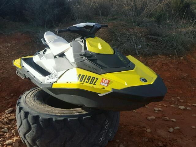 Salvage 2014 Seadoo SPARK for sale