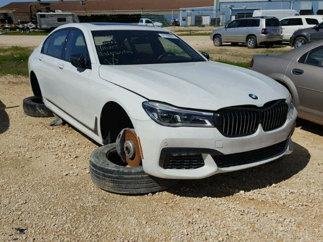 Auto Auction Ended On Vin Wba7f0c53hgm21070 2017 Bmw 750 I In Nc China Grove