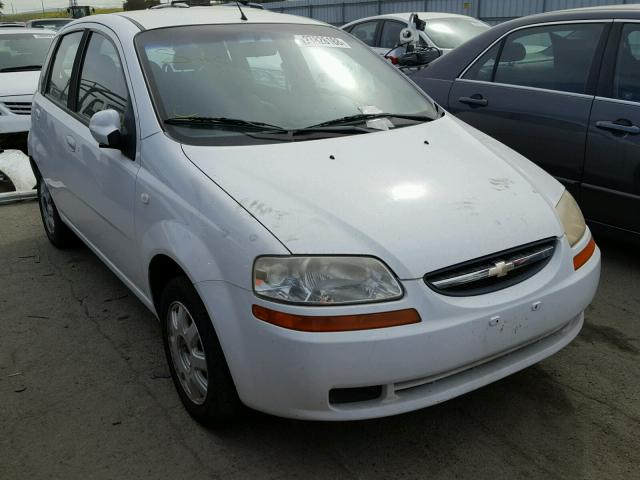 2005 Chevrolet Aveo Base For Sale Ca Martinez Salvage Cars
