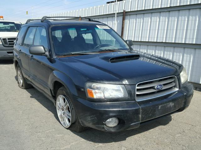 Jf1sg69664g751430 2004 Black Subaru Forester 2 On Sale In Ca