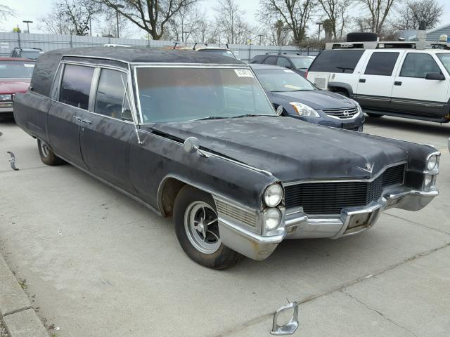 Auto Auction Ended on VIN: Z5174080 1965 Cadillac Hearse