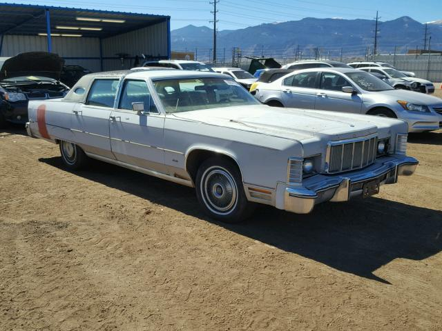Auto Auction Ended On Vin 6y82a863029 1976 Lincoln Town Car In Co