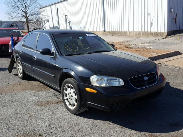Jn1ca31d0yt716763 2000 Black Nissan Maxima Gle On Sale In Ok