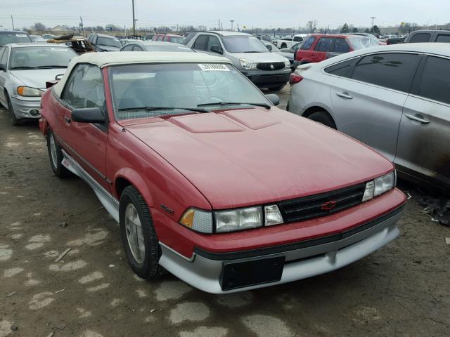 1988 chevy cavalier z24 specs