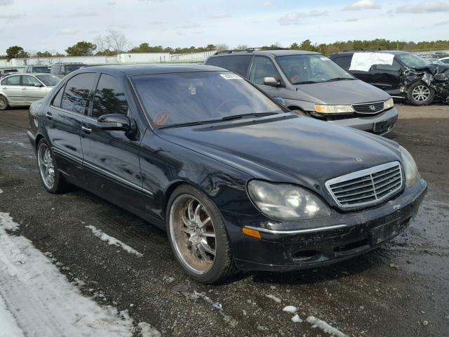 2001 MERCEDES BENZ S430 4.3L