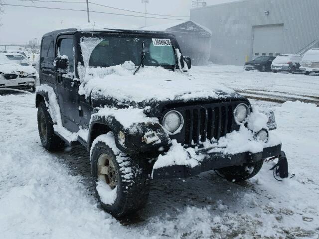 Salvage 2003 Jeep WRANGLER for sale