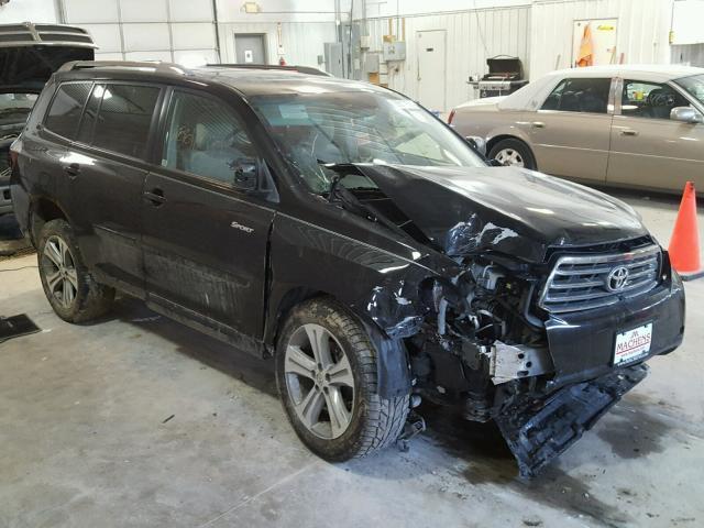 Salvage 2008 Toyota HIGHLANDER for sale