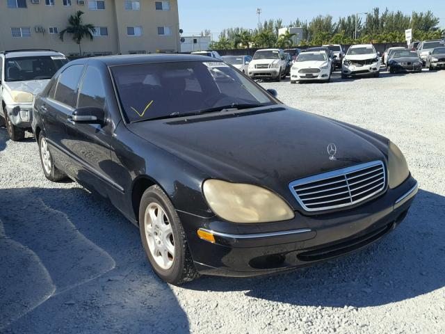 2002 MERCEDES-BENZ S 500 5.0L