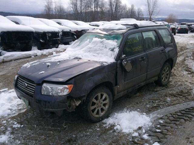 2006 SUBARU FORESTER 2 5X PREMIUM Photos - Salvage Car