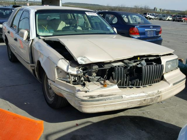 1lnlm82w9vy683113 1997 Beige Lincoln Town Car S On Sale In Tx