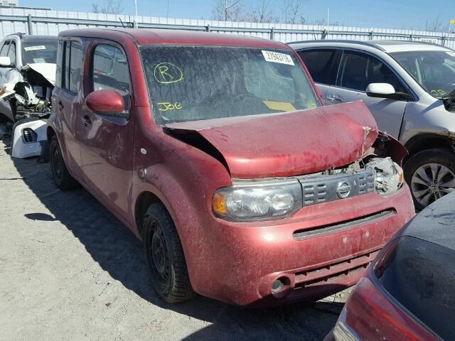 Jn8az28r09t122897 2009 Red Nissan Cube Base On Sale In On