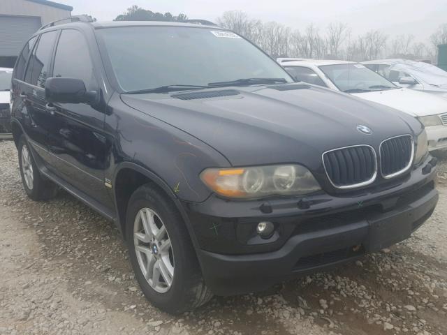 2006 BMW X5 3.0I 3.0L