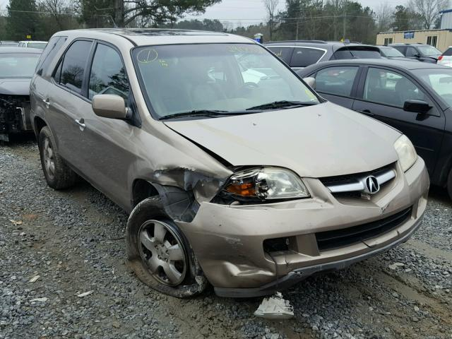 auto auction ended on vin 2hnyd18224h505889 2004 acura mdx in ga