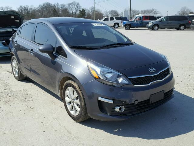 Auto Auction Ended On Vin Knadn4a30g6634352 2016 Kia Rio Ex In Tn Nashville